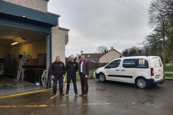 Banagher Fire Station gets new lease of life as local company re-opens its doors